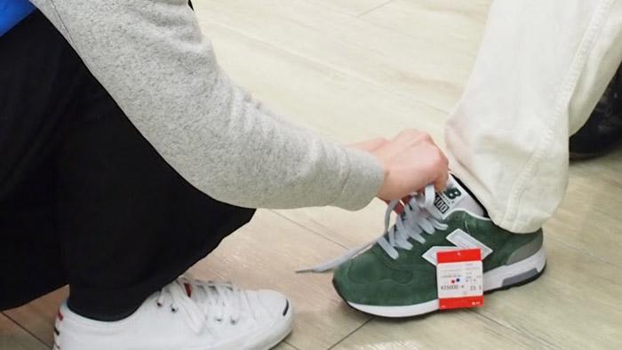 靴屋の接客